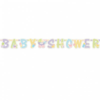 Baby Shower  Party Nursery Pram Letter  Banner  Decoration