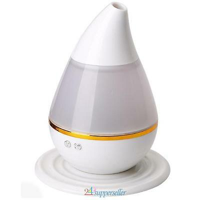 7 Color LED 200ml Ultrasonic Air Humidifier Purifier Aroma Diffuser Aromatherapy