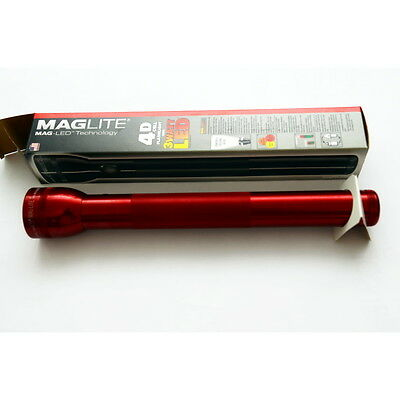 Mag-Lite Led 4-D Cell Red (Flashlights/torches - Lampade/torce) St4D035