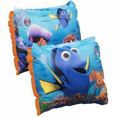 Disney Finding Dory Kids Inflatable Safety Swimming Arm Bands Pool Aid 3-6 Years