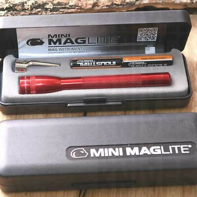 Mini Mag-Lite AAA 12,5 cm RED (FLASHLIGHTS/TORCHES - TORCE/LAMPADE) M3A032