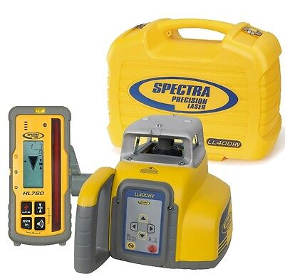 Spectra LL400HV Horizontal & Vertical Laser Level with HL760 Receiver