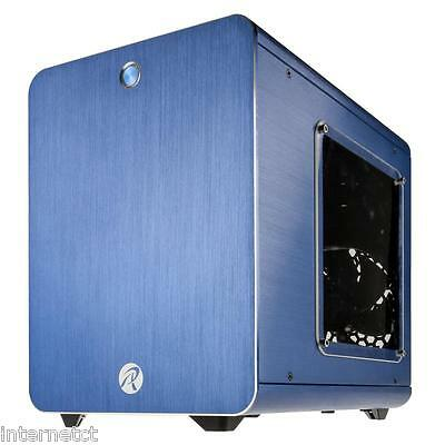 Raijintek Metis Blue Window Mini Itx Cube Aluminium Pc Computer Case Usb 3.0