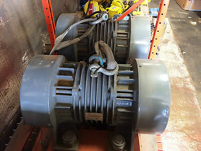 Pair of Cleveland 460 V. Model CO RO 80-6-40  Industrial Vibrators(#315)