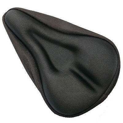 Bike Cycle Extra Bicycle Comfort Gel Pad Cushion Cover For Saddle Seat Comfy