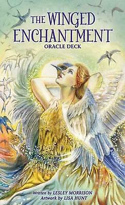 The Winged Enchantment Oracle Deck by Lesley Morrison (English) Hardcover Book F