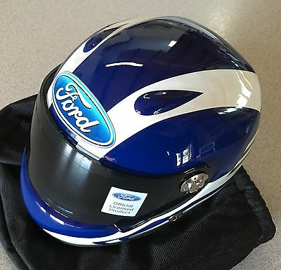 Ford Racing FPV Collectors Helmet Limited Stock Display With Cars / Clearance