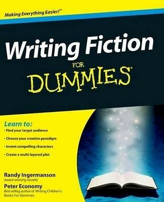 Writing Fiction For Dummies by Randy Ingermanson Paperback Book (English)