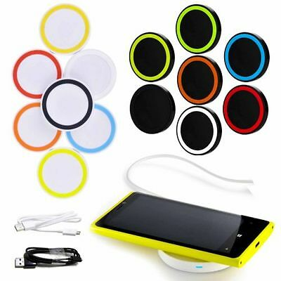 Qi induktive Ladestation Wireless Charger S6 EDGE Plus Note5 KABELLOS UNIVERSAL