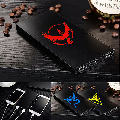 Pokemon Go 300000mAh Portable External Battery Charger Power Bank for Cell Phone