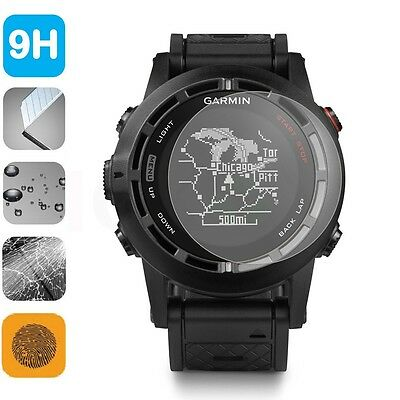 9H LCD Tempered Glass Screen Protector Shield Film for Watch Garmin Fenix2