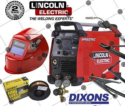 Lincoln Electric Speedtec 200C MIG Lift TIG ARC MMA Stick Welder Welding Machine