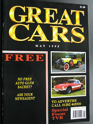 Magazine Great Cars May 1995 (English) (JS)