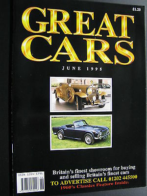 Magazine Great Cars June 1995 (English) (JS)
