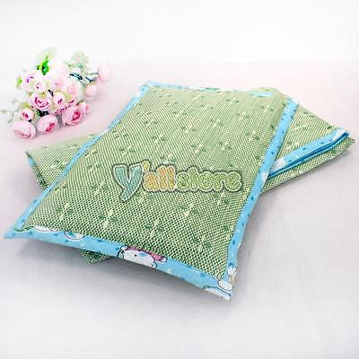 New Breathable Baby Infant Toddler Nursery Sleeping Head Rest Straw Mat Pillow