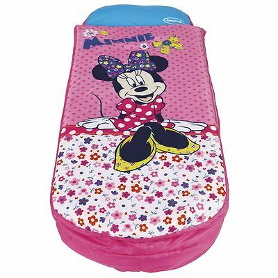 Minnie Mouse Junior Ready Bed New Sleeping Bag Inflatable Bed