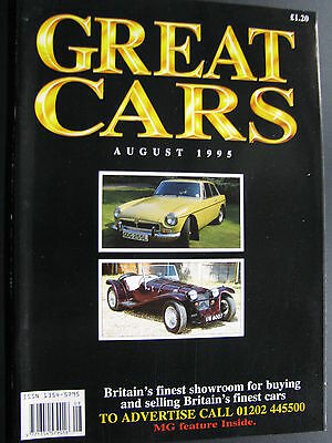Magazine Great Cars August 1995 (English) (JS)