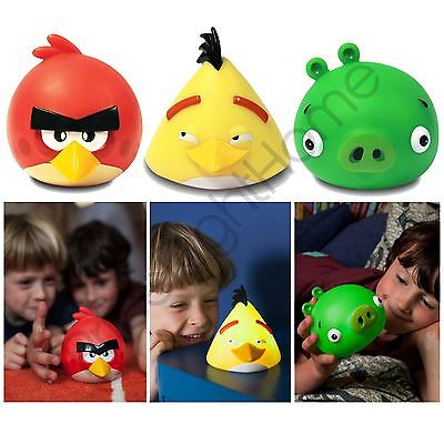 Angry Birds Illumi Mates Pig, Red & Chuck Childrens Bedroom Lighting Free P+P