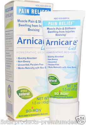 New Boiron Arnicare Gel Muscle Pain Stiffness Relief Bruising Unscented Healthy