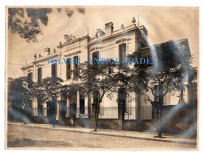 Interesting old British Hospital in Buenos Aires Argentina old Curtis photo 1910