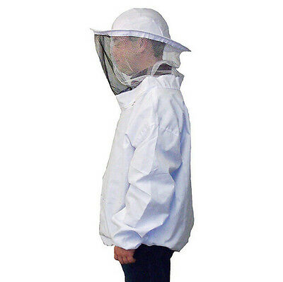 Smock Suit With Protective Jacket Veil Dress Equipment Hat Beekeeping Pull