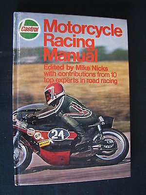 Book Castrol Motorcycle Racing Manual, Mike Nicks (English)