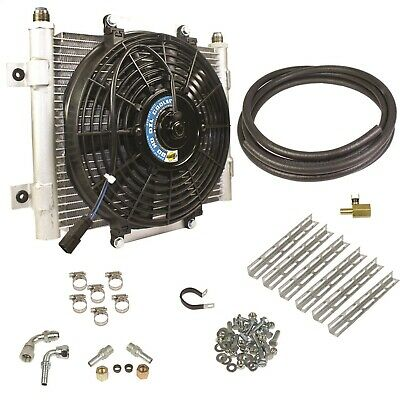 BD Diesel 1030606-1/2 Xtruded Auxiliary Transmission Oil Cooler