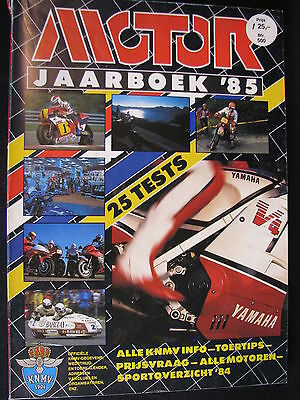 Book Motor Jaarboek 1985 (Nederlands)