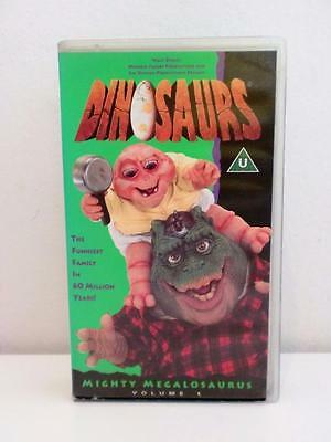 Rare Disney Jim Hensons Dinosaurs Series Volume 1 VHS Video 1990s