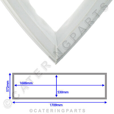 Mondial Elite M3-4612138 White Door Gasket Kic40 Tall Refrigerated Cupboard