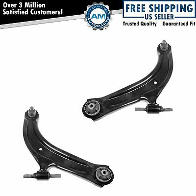 Front Lower Control Arm w Ball Joint L R Driver Passenger Pair for 07-12 Sentra