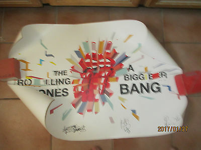 2005 Fan Club Poster The Rolling Stones A Bigger Bang Embossed 24 By 36