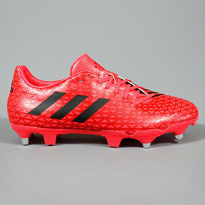 Adidas Malice SG Rugby Boots Shock Red / Black / Shock Red