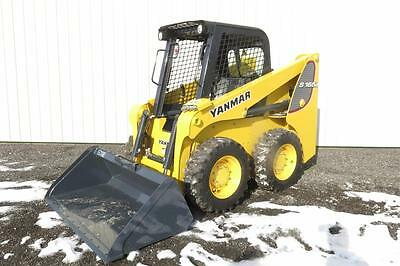 2016 Yanmar S165R Skid Steer Loader, Orops, 68 Horsepower Just Off Of Rent!!