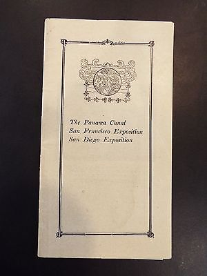 The New Pacific and Retrospection Exposition Vintage Advertising Booklet