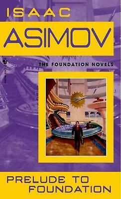 Prelude to Foundation by Isaac Asimov (English) Prebound Book Free Shipping!