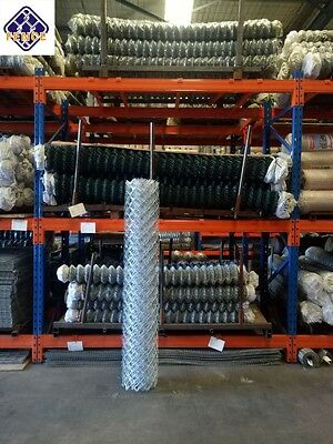 Multiple size available of chain-link wire Fence/Diamond mesh roll