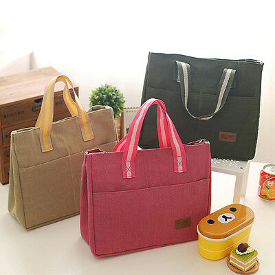New Waterproof Insulated Thermal Cooler Lunch Box Picnic Carry Tote Storage Bag