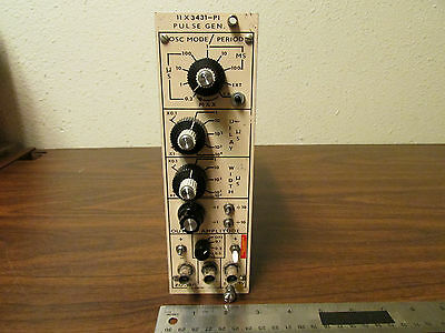 NIMBIN Pulse Generator 11X3431-P1 Nuclear Instrumentation Tested Working