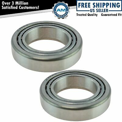 Front Wheel Bearing & Race Set LH Driver RH Passenger Sides Pair for Dodge Ford