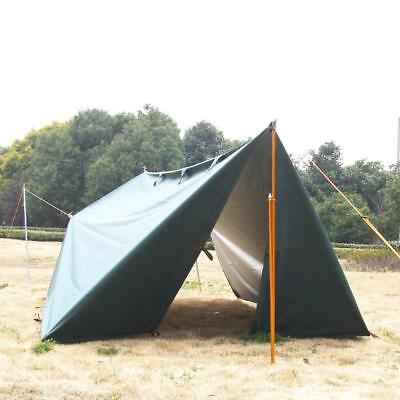 Waterproof Outdoor Camping Heavy Duty Awning Trail Tarp Tent Hiking Shelter