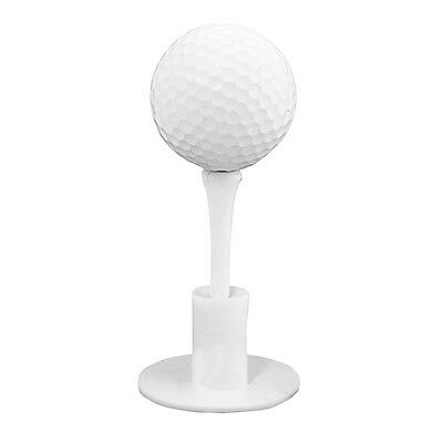 1 Set Durable White Rubber Golf TEE Holder Golf Driving Range Tee Practice Tool