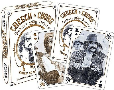 Cheech and Chong set of 52 playing cards (+ jokers) (nm 52330)