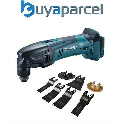 Makita DTM50Z 18v LXT Li-Ion Cordless Multi Tool Bare Unit + 7pc Accessory Set