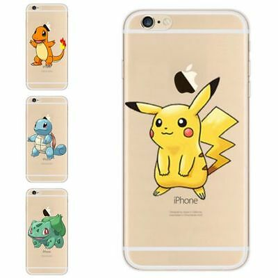 For Samsung Models Really Cool Pokemon Go Case - Cute Cartoon Soft Gel Tpu Cover