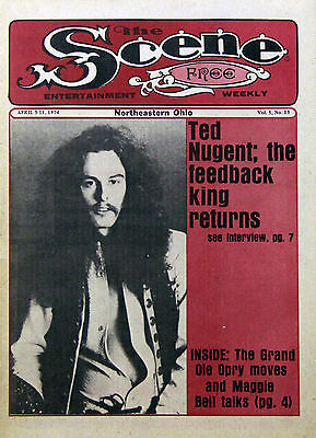 Ted Nugent Vintage & Rare Magazine Covers & Articles Collection