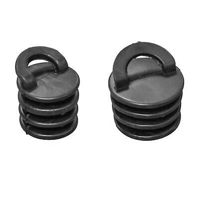 GoSea Kayak Scupper Plugs Soft Rubber Ocean Canoe Bungs Ribbed Black 3cm 4cm