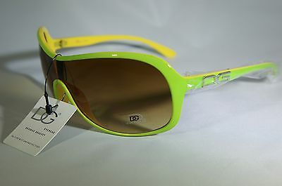 Retro DG Shield Sunglasses for Women/Uv400