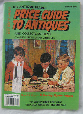 The Antique Trader Pricing Guide To Antiques and Collectors Items October 1991