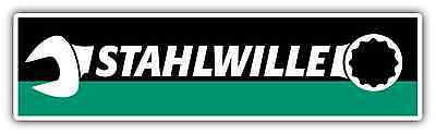 "Stahlwille Tools Tool Germany Car Bumper Window Tool Box Sticker Decal 8""X2"""